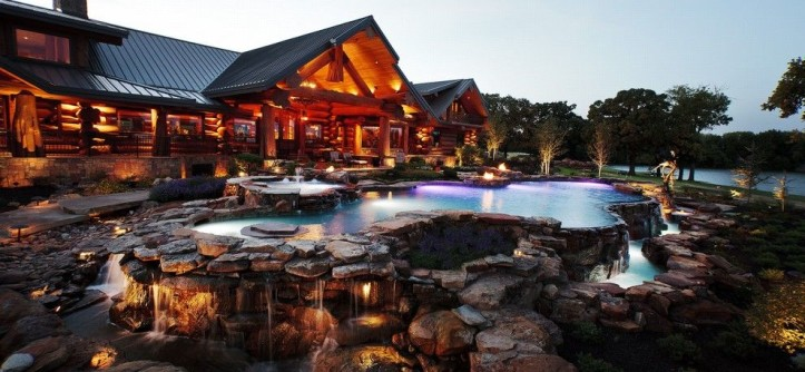 Claffey Pools for a Rustic Pool with a Rustic and New Pools and Spas by Claffey Pools