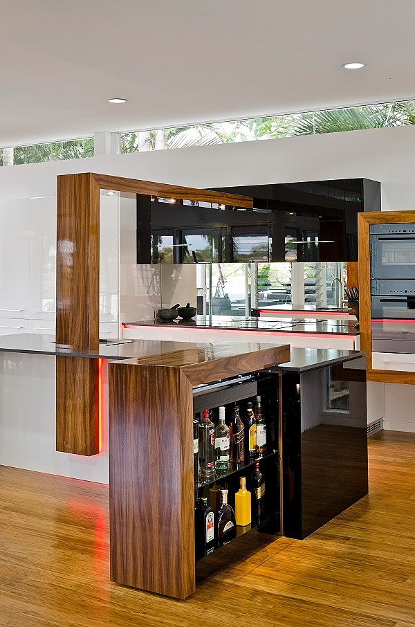 Clerestory Windows for a Modern Kitchen with a Modern and Auchenflower by Enigma Interiors
