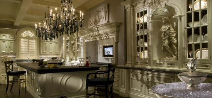 Clive Christian Kitchen for a Traditional Kitchen with a Hand Painted and Clive Christian Architectural Kitchen by Clive Christian Weybridge Ltd