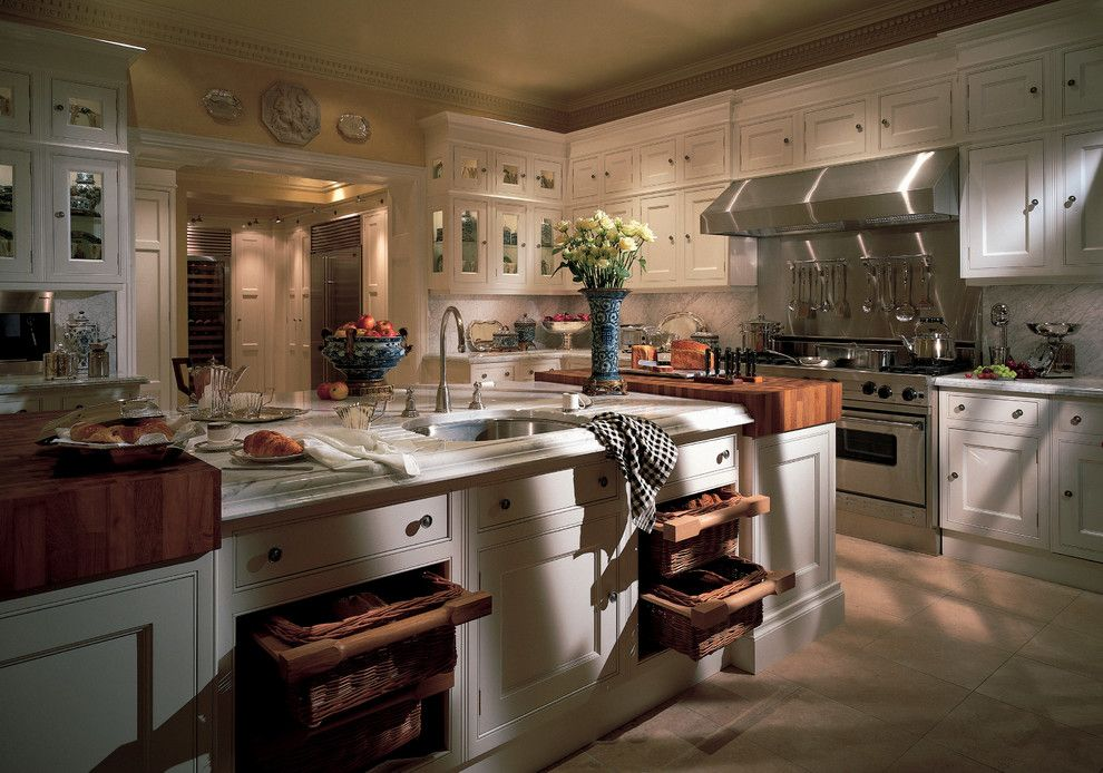 Clive Christian Kitchen for a Traditional Kitchen with a Ivory and Clive Christian British Luxury Interiors by Clive Christian San Francisco