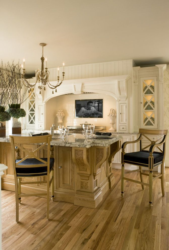 Clive Christian Kitchen for a Victorian Kitchen with a Eat in Kitchen and Georgian Stunner by Casablanca Designs/clive Christian Washington