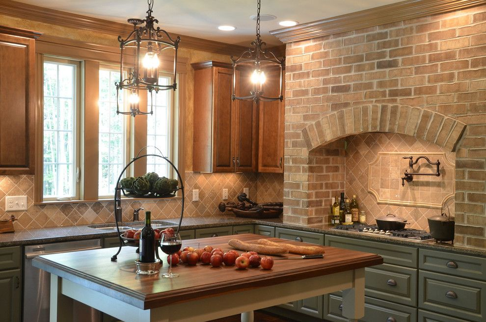 Cobblestone Homes for a Traditional Kitchen with a Traditional and Hgtv   Showhouse Showdown Home 1 by Cobblestone Homes