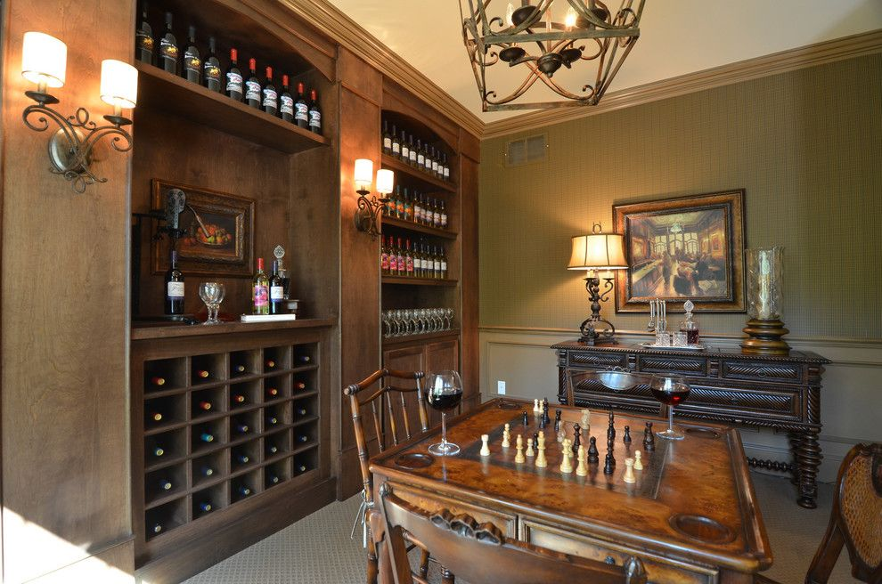Cobblestone Homes for a Traditional Wine Cellar with a Traditional and Hgtv   Showhouse Showdown Home 1 by Cobblestone Homes