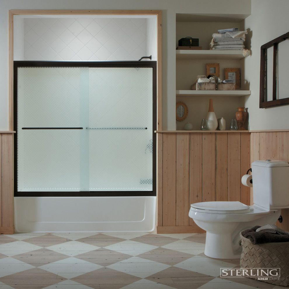 Codel Doors for a Contemporary Bathroom with a Contemporary and Bathroom by Sterling Plumbing