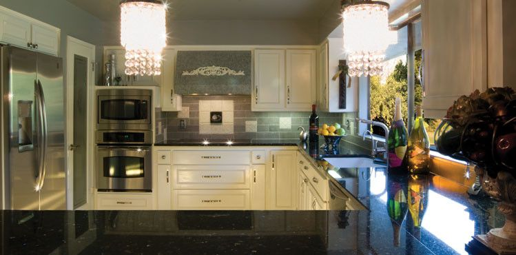 Coldspring Granite for a  Kitchen with a Granite Kitchen Countertops and Tile & Stone by Coldspring