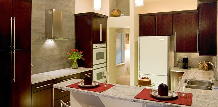 Coldspring Granite for a  Kitchen with a Light Granite Countertops and Tile & Stone by Coldspring