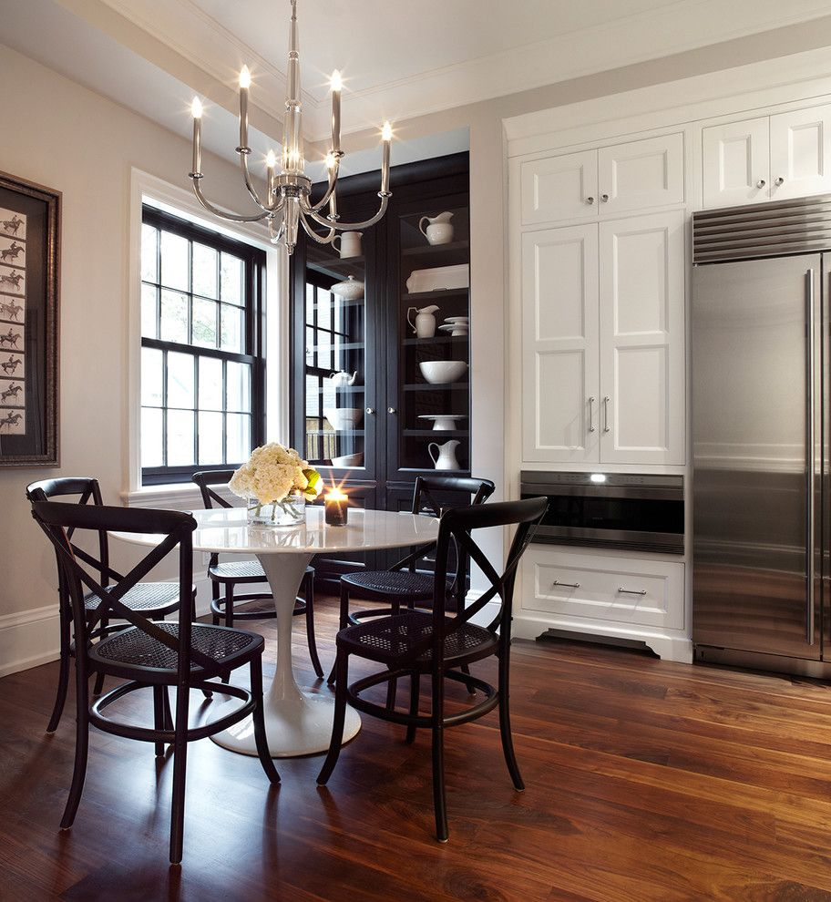Coleman Furniture Reviews for a Transitional Kitchen with a Centerpiece and 7 Austin Terrace by Lisa Petrole Photography