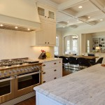 Colonial Cream Granite for a Traditional Kitchen with a Nc and Raleigh Custom Home by Otrada L.l.c. by Otrada Llc