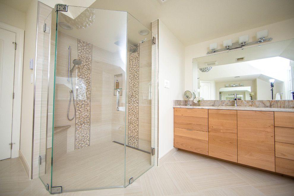 Conestoga Tile for a  Bathroom with a Porcelain Tile and Bathrooms by Conestoga Tile