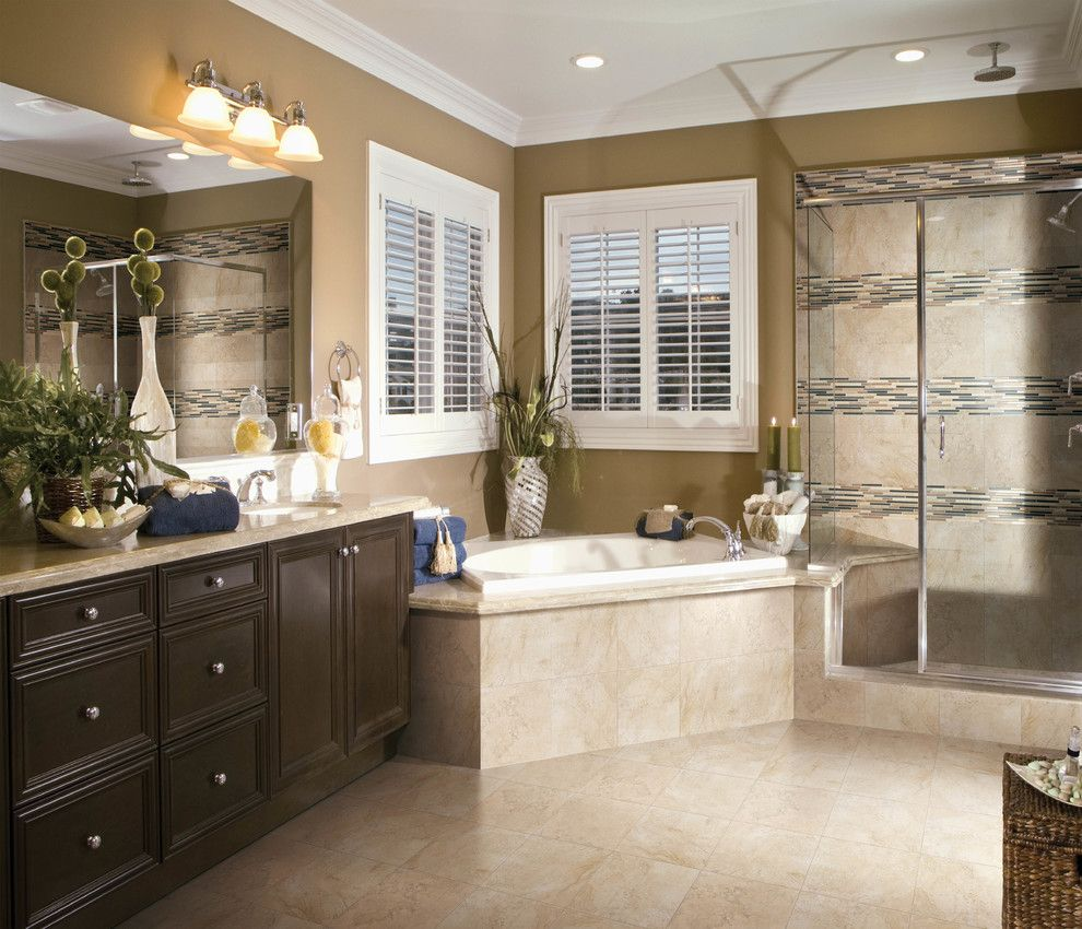 Conestoga Tile for a  Bathroom with a Tiles and Porcelain Tile Bathroom by Conestoga Tile