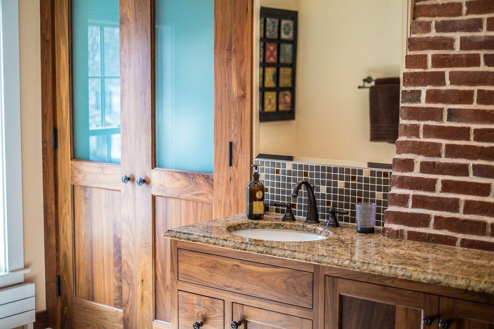 Corrados for a  Spaces with a Bath and Morningstar Tile, Bath Kitchen. April 2014 by Joseph Corrado Photography