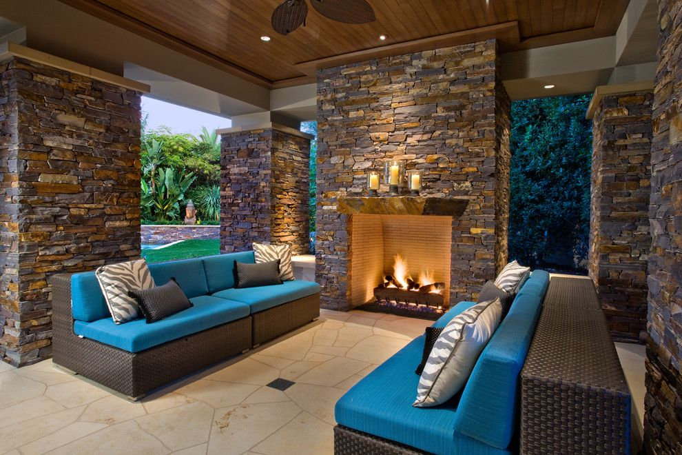 Cort Clearance Furniture for a Contemporary Patio with a Wood Ceiling and Newport Beach   Belcourt Remodel by David A. Kaech & Associates, Inc.