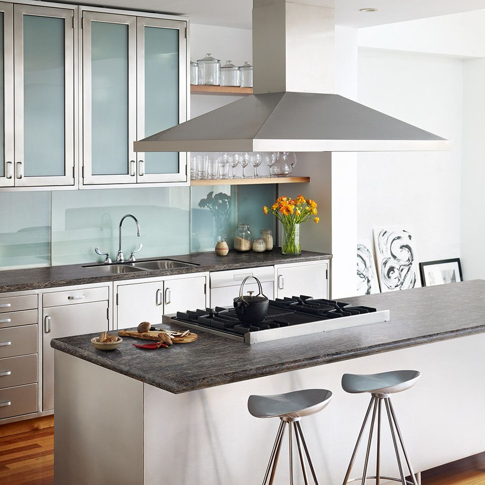 Cosmos Granite for a Contemporary Kitchen with a Contemporary and Wilsonart by Wilsonart
