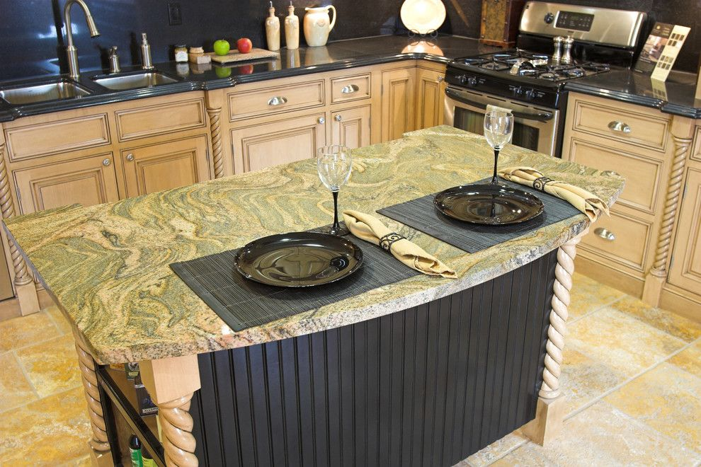 Cosmos Granite for a Contemporary Kitchen with a Cosmosgranite and Cosmos Granite Expressions by Cosmos Granite & Marble
