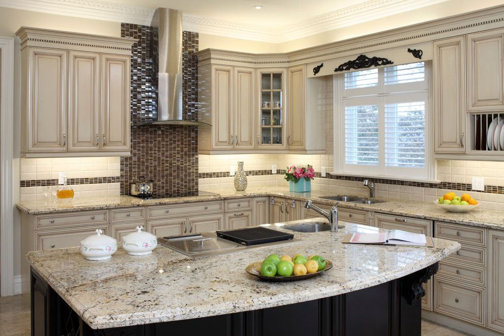 Cosmos Granite for a Contemporary Kitchen with a Modern Kitchen and Cosmos Granite Expressions by Cosmos Granite & Marble