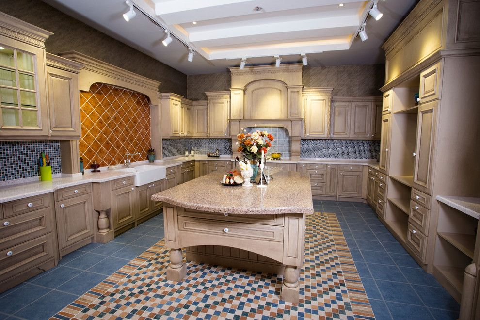 Cosmos Granite for a Traditional Kitchen with a Modern Kitchen and Cosmos Granite by Cosmos Granite & Marble