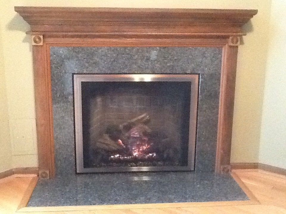 Courtland Hearth for a  Spaces with a Gas Fireplaces and Finished Installs by Courtland Hearth & Hardware