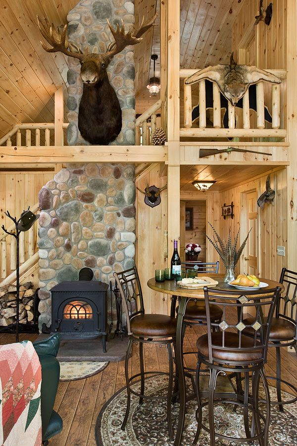 Coventry Log Homes for a Rustic Dining Room with a Log Cabins and Log Homes & Cabins   Coventry Log Homes   the Ascutney by Coventry Log Homes