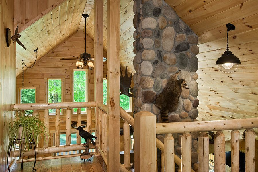 Coventry Log Homes for a Rustic Staircase with a Log Cabins and Log Homes & Cabins   Coventry Log Homes   the Ascutney by Coventry Log Homes