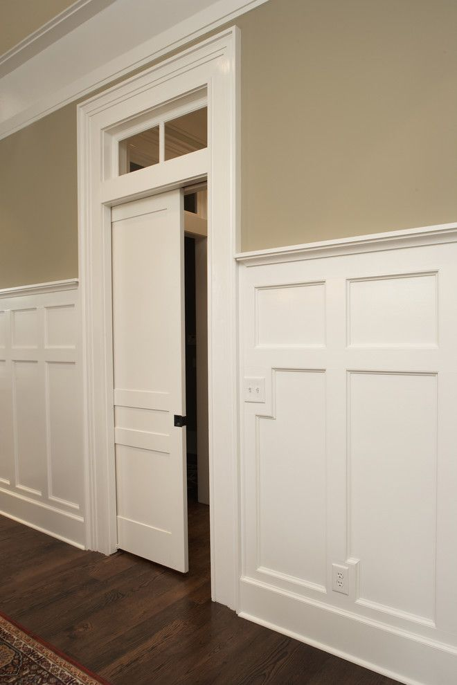 Craftmaster Doors for a Traditional Hall with a Traditional and Church Street by Plantation Building Corp