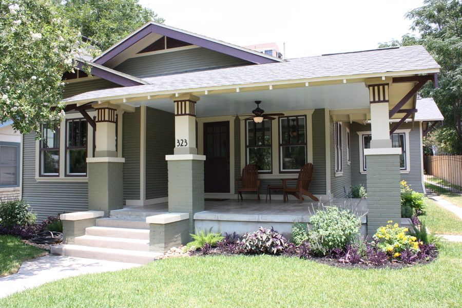 Craftsman Bungalow for a Traditional Exterior with a Traditional and Craftsman Bungalow Renovation by Green Button Homes Llc