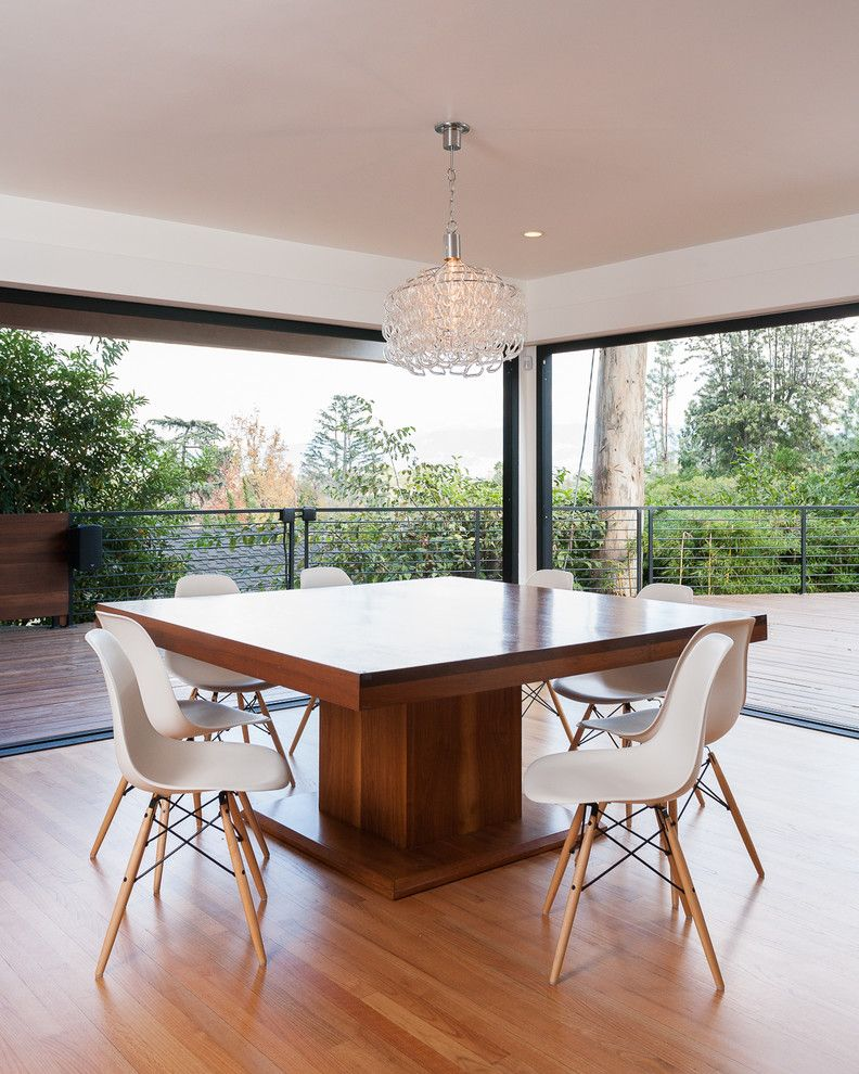 Craiglist Oklahoma City for a Contemporary Dining Room with a Pendant Light and Studio City Contemporary by Kasis Construction Inc.