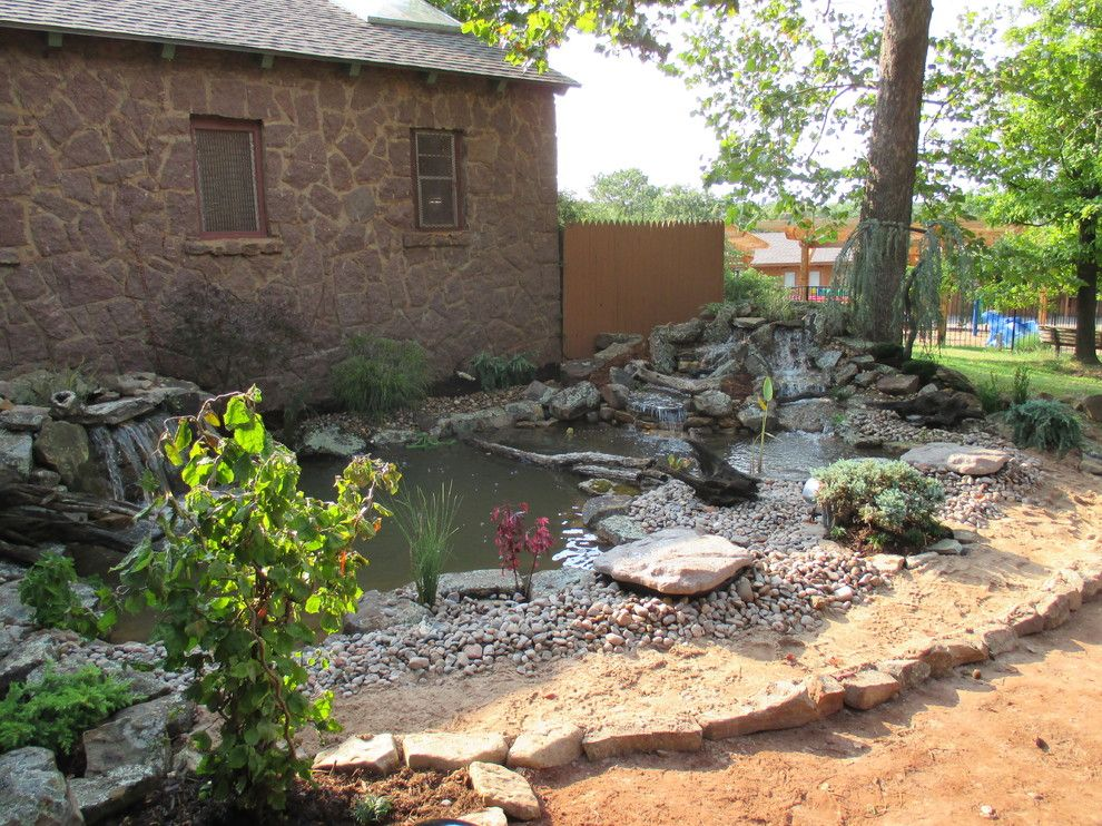 Craiglist oklahoma city for a modern entry with a sliding for Garden pond unlimited