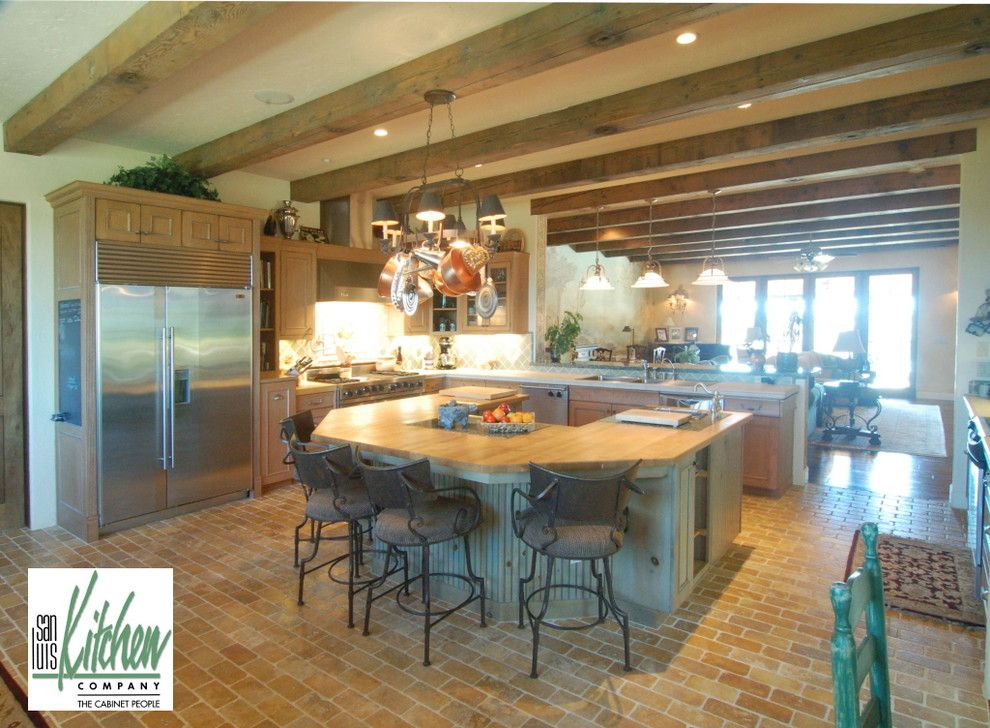Craigslist San Luis Obispo for a Mediterranean Kitchen with a Oak Knotty Pine and San Luis Kitchen Co., Tuscan by San Luis Kitchen Co.