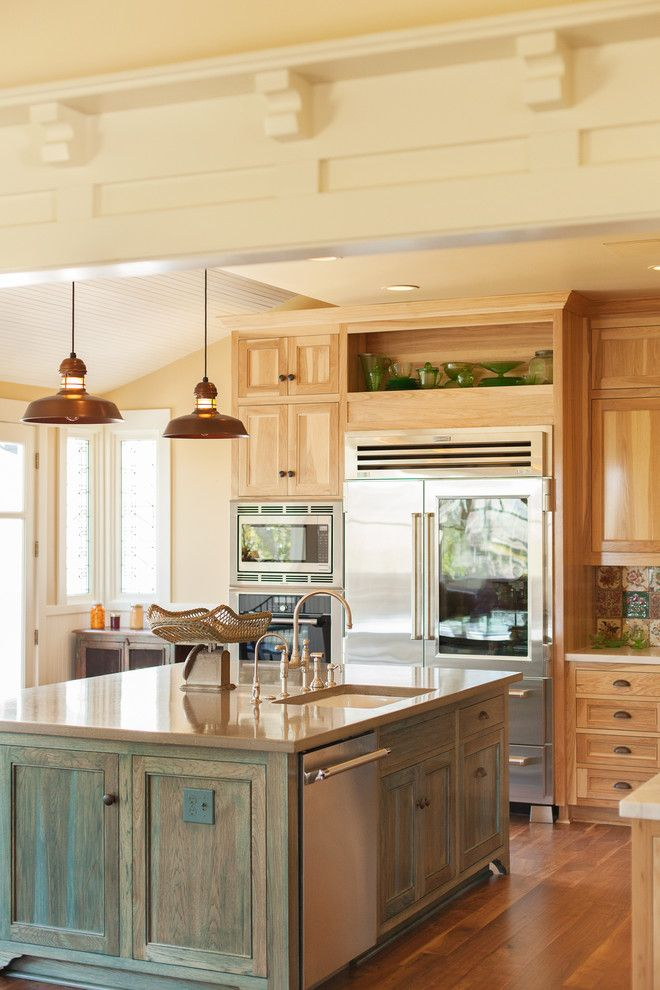 Craigslist San Luis Obispo for a Traditional Kitchen with a Pendant Lights and Historical San Luis Obispo Home by Holland & Knapp Construction