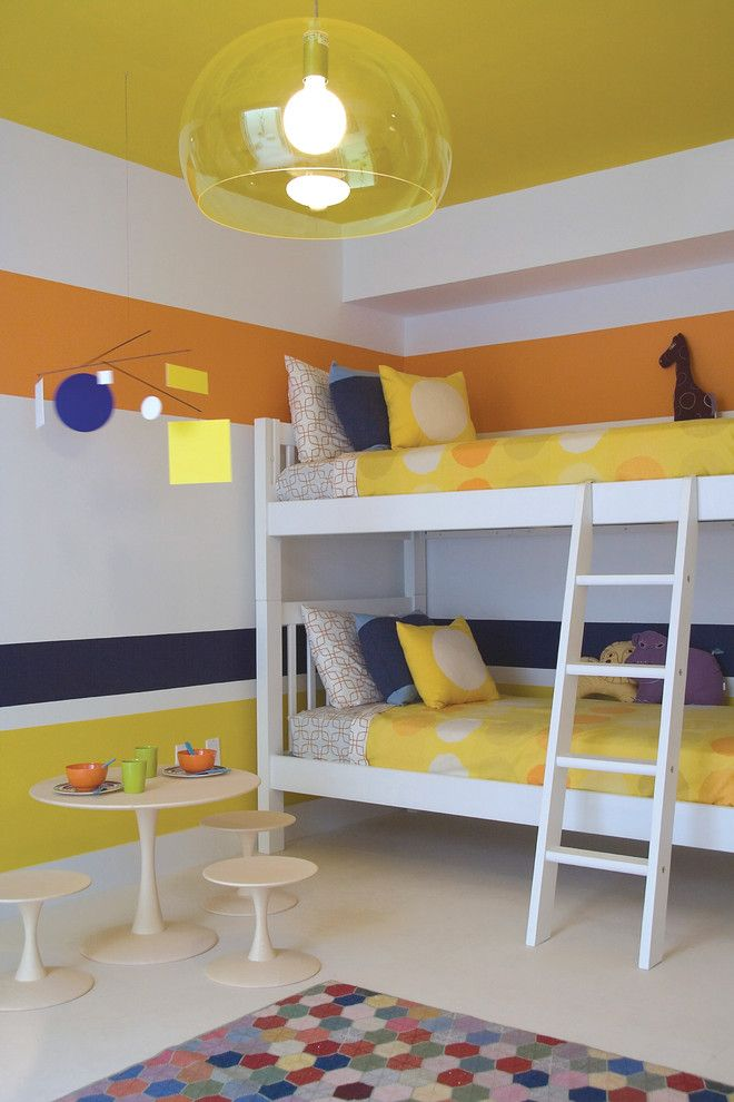 Craigslist Sby for a Contemporary Kids with a Bunk Beds and Miami Townhouse by Amy Lau Design