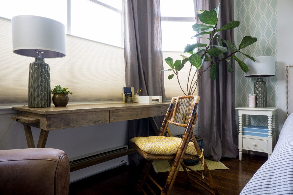 Craigslist Sby for a Transitional Bedroom with a My Houzz and My Houzz: Eunice's Home by Hoi Ning Wong