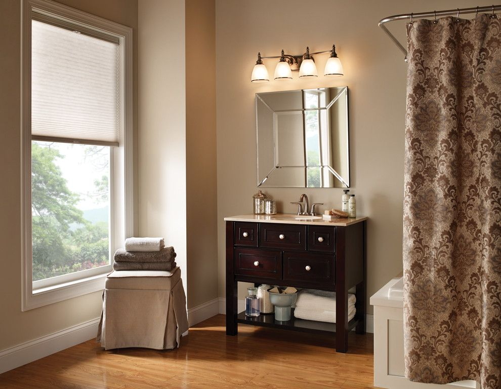 Crescent Electric Supply Company for a Contemporary Bathroom with a Vanity Lighting and Bathroom and Vanity Lights by Crescent Electric Supply Company