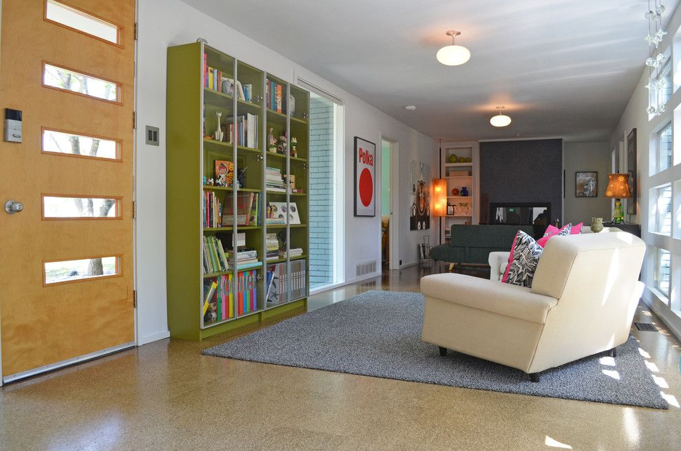 Crestview Doors for a Midcentury Living Room with a Midcentury and Dallas, Tx: Stolp by Sarah Greenman