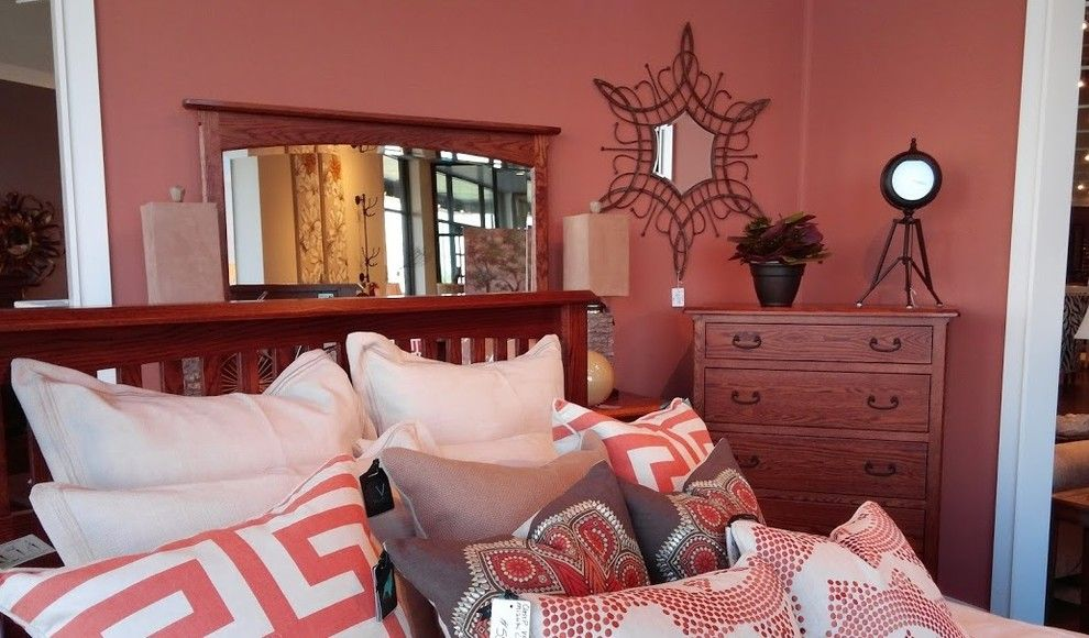 Crowley Furniture for a Eclectic Bedroom with a Wall Mirrors and Gallery by Crowley Furniture