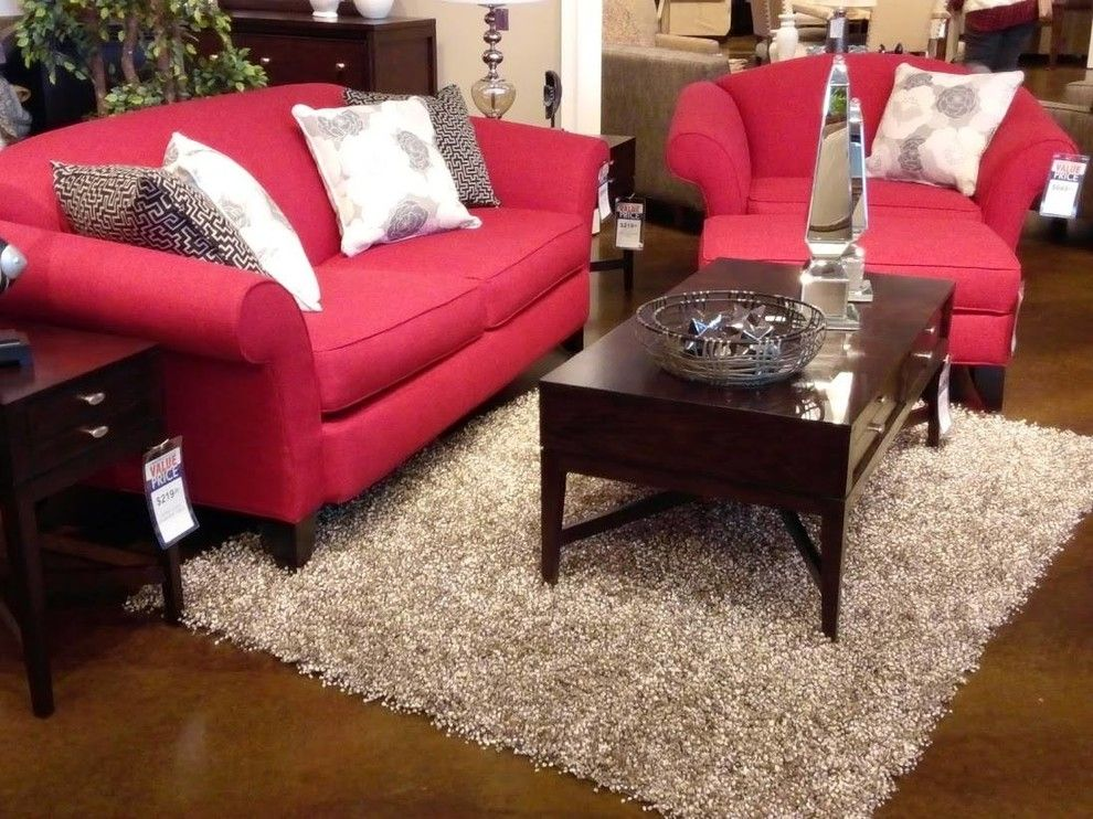 Crowley Furniture for a Modern Living Room with a Wood Side Table and Gallery by Crowley Furniture