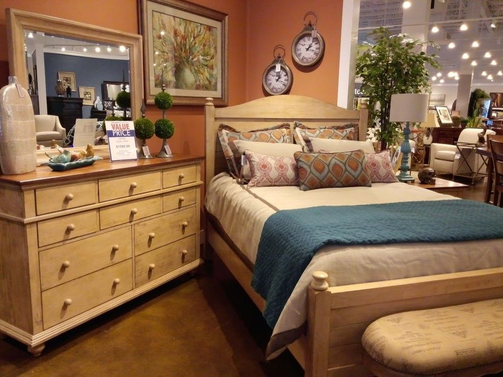 Crowley Furniture For A Traditional Bedroom With A Wall Mirrors