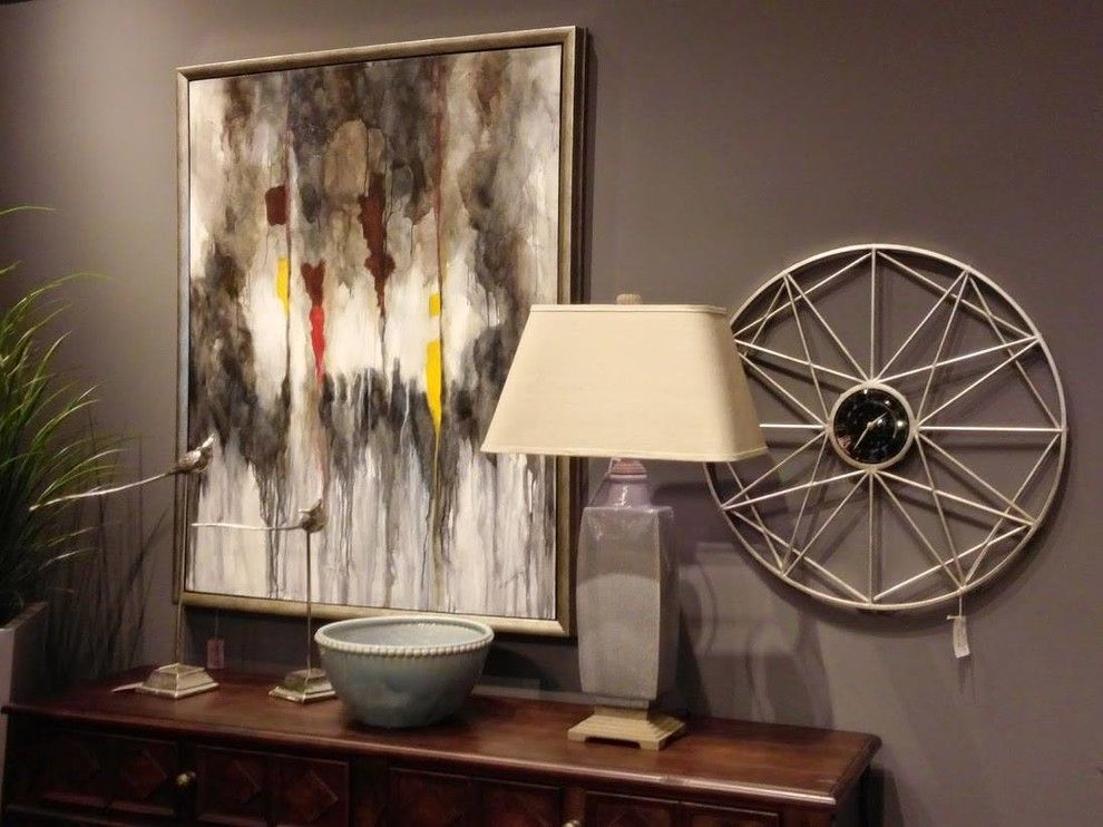 Crowley Furniture for a Transitional Hall with a Wall Clocks and Gallery by Crowley Furniture