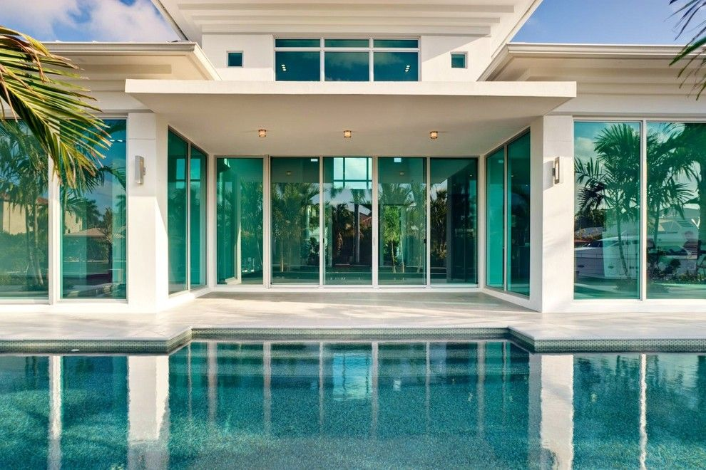Csl Lighting for a Contemporary Exterior with a Modern and Glass Houzz by Tuthill Architecture