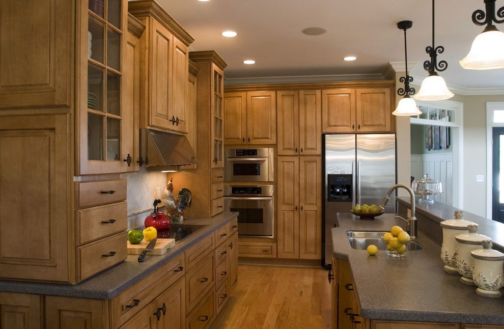 Csl Lighting for a Traditional Kitchen with a Ceiling Lighting and Traditional Kitchen by Southernstudio.com