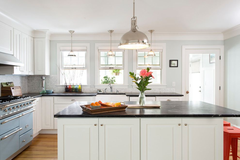 Csl Lighting for a Traditional Kitchen with a Pendant Lights and Vincent Ave Second Story Addition by Ronel Builders L L C