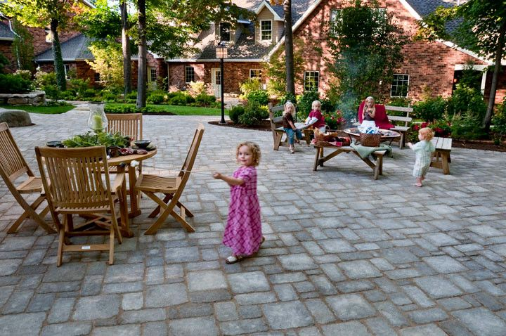 Cst Pavers for a Traditional Patio with a Pavers and Paver Patio Deep Creek, Md by Cst Pavers