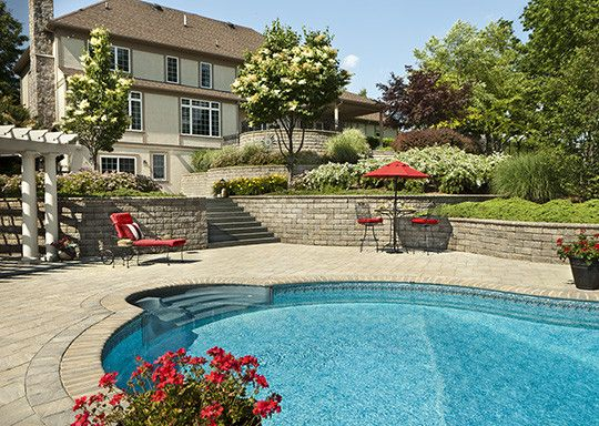 Cst Pavers for a Traditional Pool with a Pavers and Poolscape in New Jersey by Cst Pavers