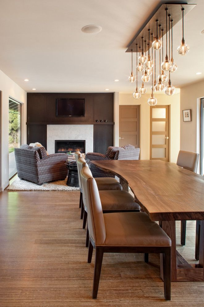 Dania Furniture Portland for a Contemporary Dining Room with a Neutral Colors and Dave Giulietti by Giulietti Schouten Architects