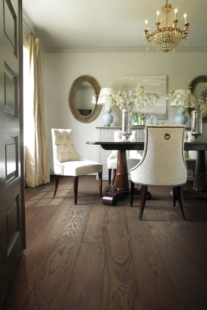 Dania Furniture Portland for a Traditional Dining Room with a Flooring and Dining Room by Carpet One Floor & Home