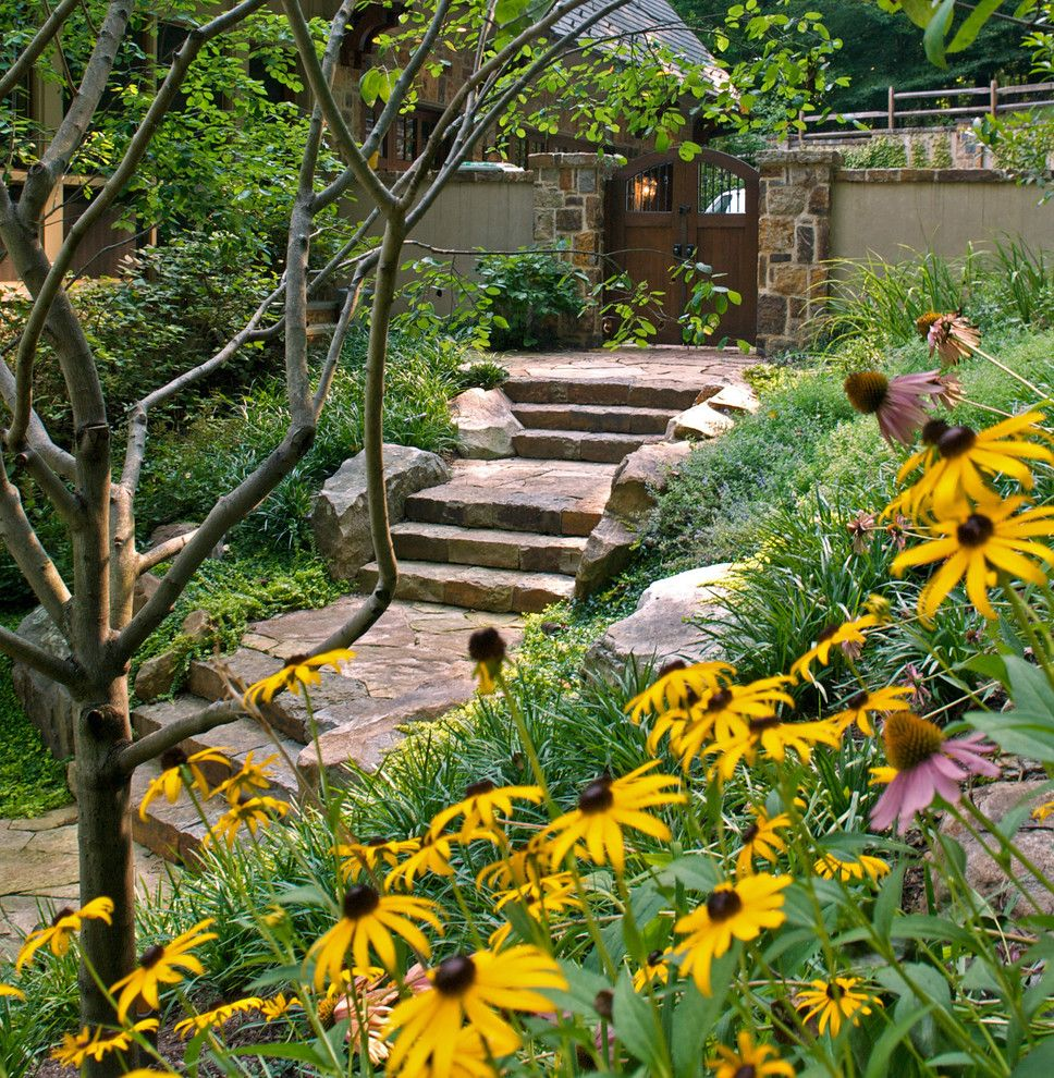 Danielle Fence for a Contemporary Landscape with a Outdoor Stairs and D by Plusen Landscape Architects