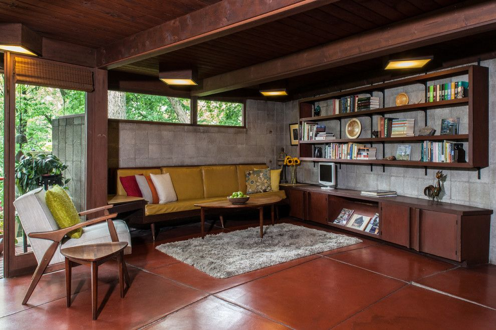Danish Inspirations for a Midcentury Family Room with a My Houzz and Lipkind House by Jason Snyder