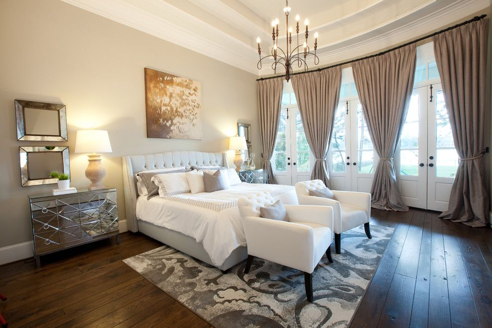 Darling Homes Houston for a Traditional Bedroom with a Antique Mirror and Tholen House by Maison Market