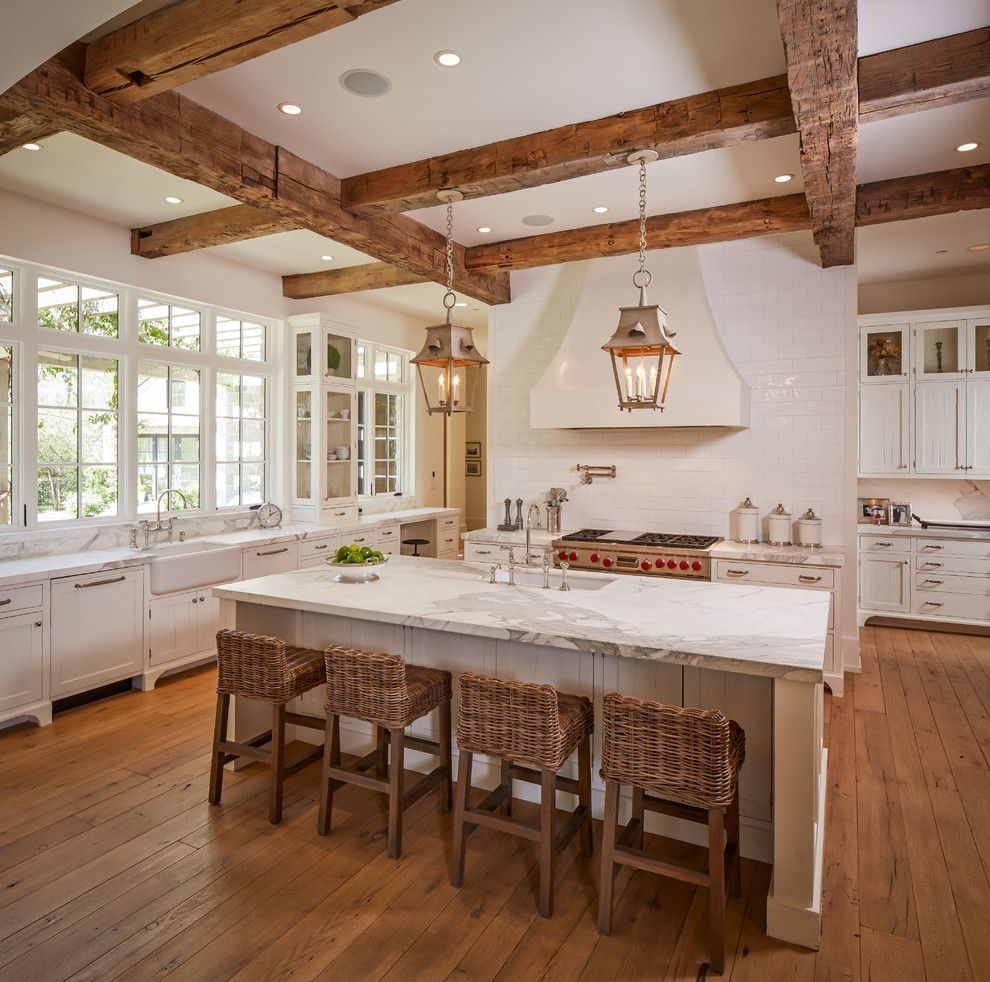 Darling Homes Houston for a Traditional Kitchen with a Pendant Lights and Shasta by Thompson Custom Homes