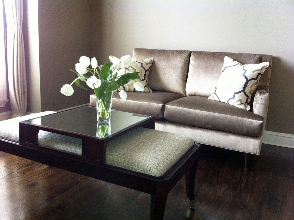 Dau Furniture for a Contemporary Living Room with a Tray and Designs by Tracy Miles by Dau Furniture
