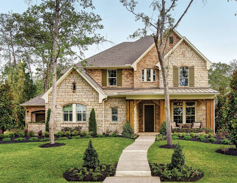 David Weekley Homes Houston for a Traditional Exterior with a Traditional and the Huntsburg by David Weekley Homes